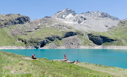 Lac de la Sassiere, Haute Tarentaise