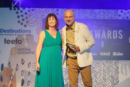 Xavier Schouller, Peak Retreats and Jane Knight, Times Travel Editor
