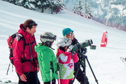 Guided outings to observe wildlife, Flaine, Grand Massif, French Alps