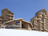 The luxury l'Amara Residence, Avoriaz