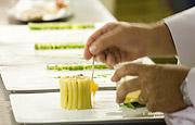 Michelin star cuisine at La Bouitte restaurant, St Martin de Bellville