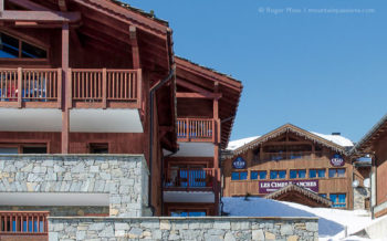 Les Cimes Blanches self-catering ski apartments, Les Eucherts, La Rosiere, French Alps