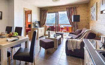 Lodge Hemera apartment interior, La Rosière, French Alps
