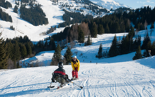 Skiing with a Disability