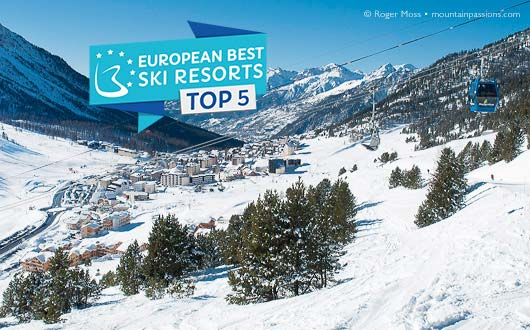 Montgenevre - European Best Ski Resorts 2018 Top 5