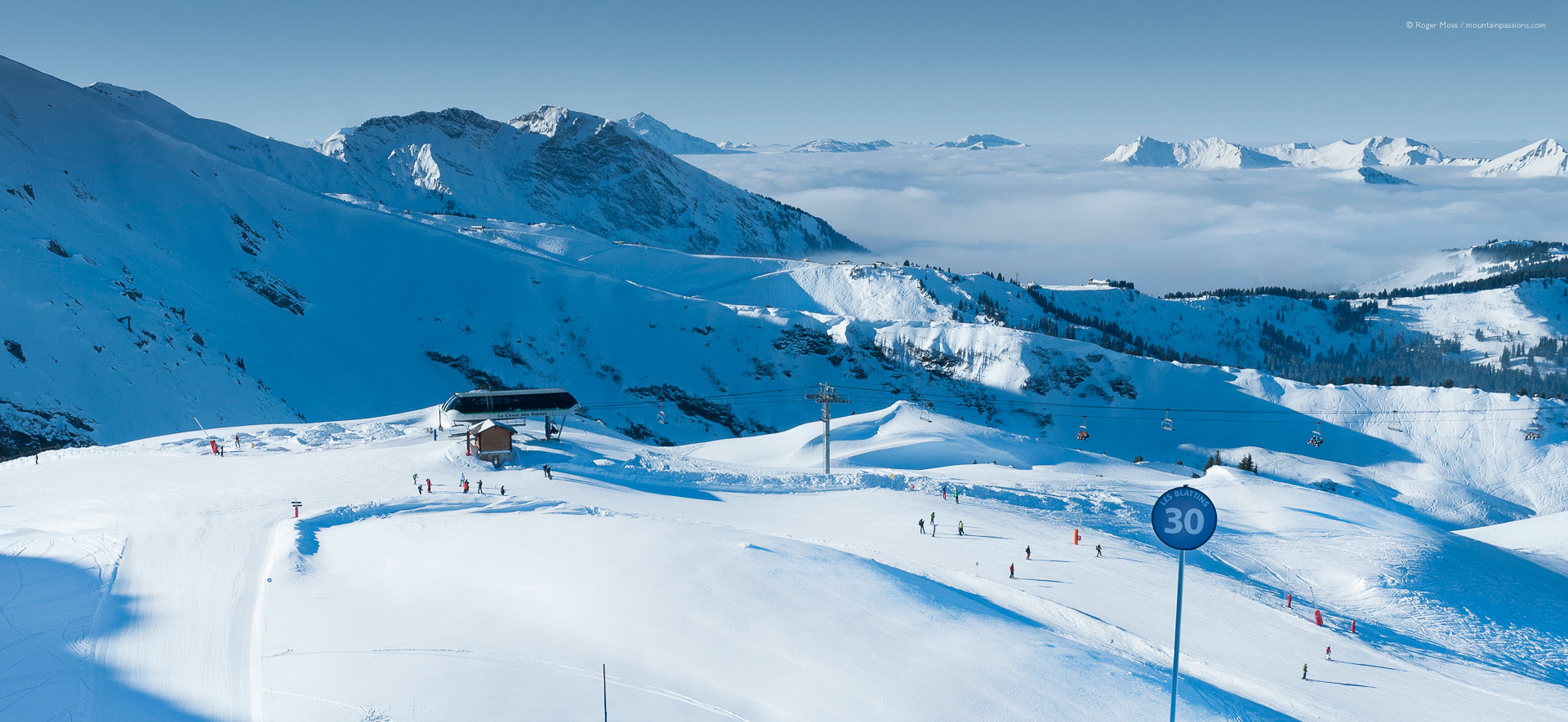 Ch tel ski resort review french alps mountainpassions - Portes du soleil horaires ...