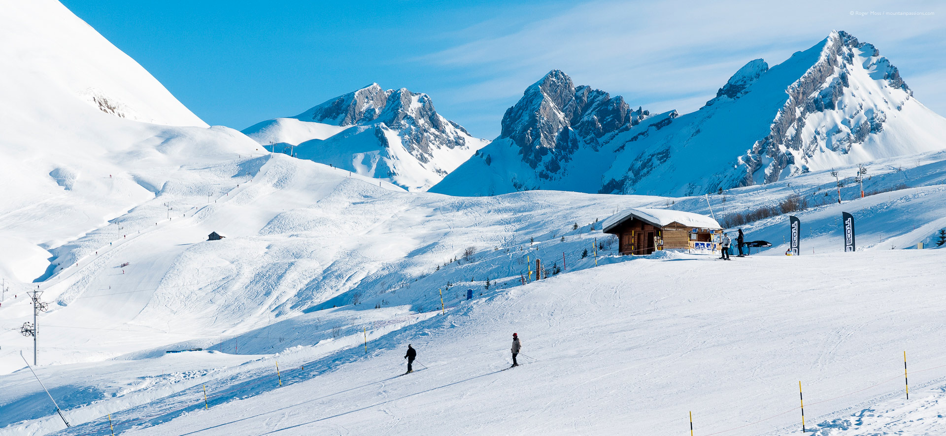le grand bornand ski resort review | french alps | mountainpassions