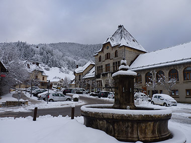 The village of St Pierre-de-Chartreuse