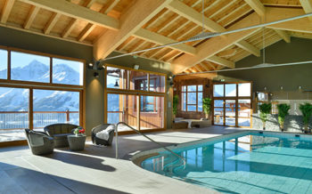 Summit Spa and Pool, Hyatt Centric Hotel, La Rosiere, French Alps