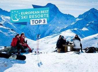 Alpe d'Huez was voted number 2 in the best ski resorts in the world 2018