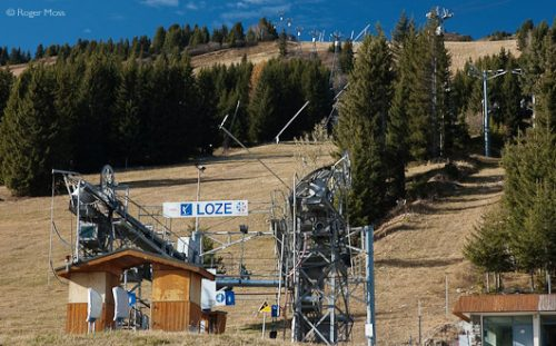 Loze draglift, Courchevel