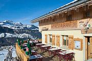Mountain restaurant Le Vent Volet, Crest Voland