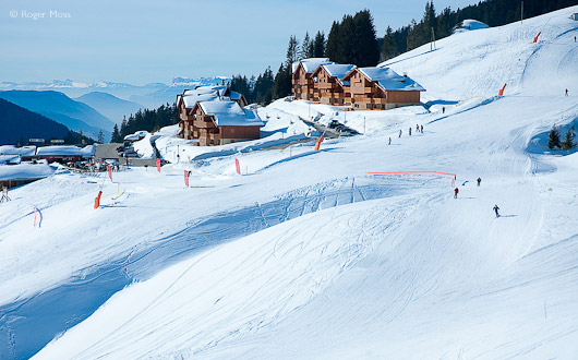 Ski-in/ski-out chalet apartments at Bisanne 1500 are transforming the range of visitor accommodation.
