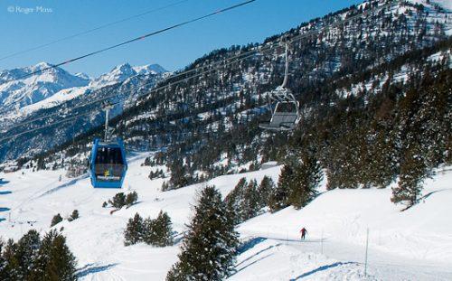 Telemix chairlift, Montgenevre