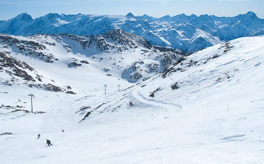 The Sarenne piste, Alpe d'Huez