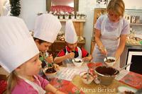 Chocolate workshop, Les Gets