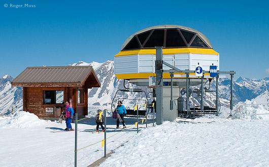 Ski-lift, family, Le Devoluy