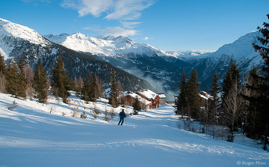Skier La Rosière, Haute Tarentaise
