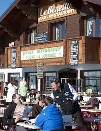 Le Benetton Bar Restaurant, Col de la Legette, Les Saisies
