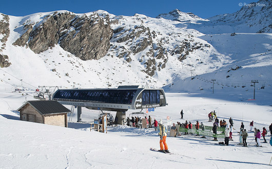 Orelle link lift to Val Thorens