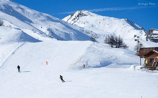 Rocheur Noir serves blue pistes, Puy-Saint-Vincent