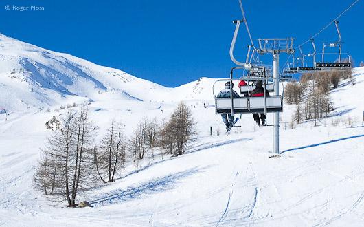 Ski-lift, Puy-Saint-Vincent