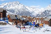 La Dame Blanche ski-in ski-out apartments,  Puy Saint Vincent 1800