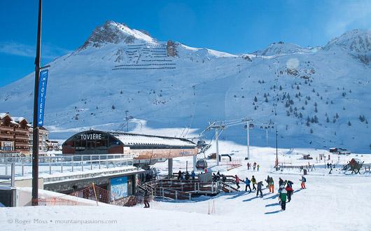 Gondola ski-lift Toviere, Tignes
