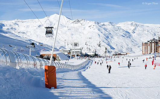 Val Thorens, Three Valleys, French Alps