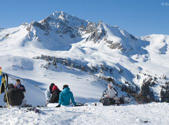Valfrejus, Maurienne Valley, French Alps