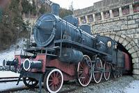 Valfrejus locomotive