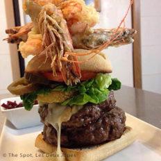 Burger, The Spot restaurant, Les 2 Alpes