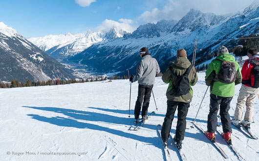 Going on holiday with friends ? Nowhere measures up like Chamonix
