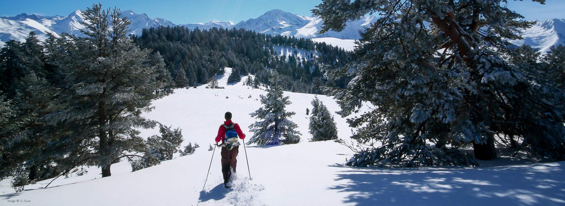 Snowshoe in the French Pyrenees Image ©O. Guix