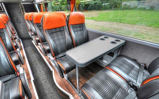 Snow Express coach interior