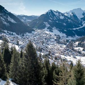 Chatel ski resort, Portes du Soleil, French Alps