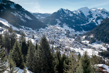 Chatel ski resort, Portes du Soleil, French Alps