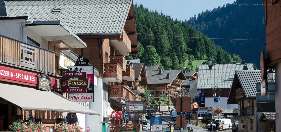 Châtel village in summer