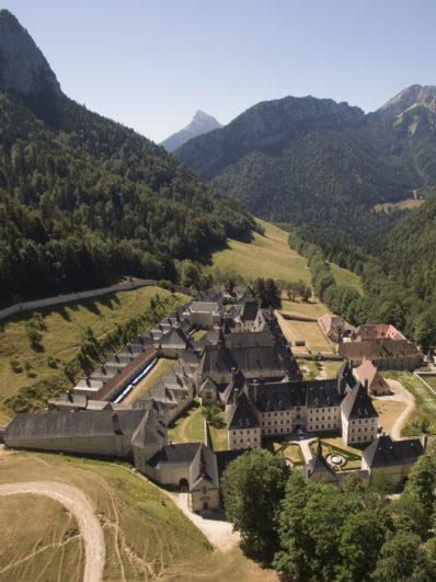Vue aerien Monastère Grande Chartreuse