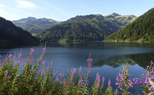 Lac St Guerin, Beaufortain, French Alps