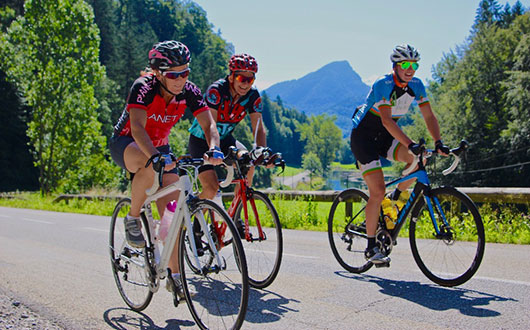Routes, trails and cols - what's new for cyclists in the French Alps