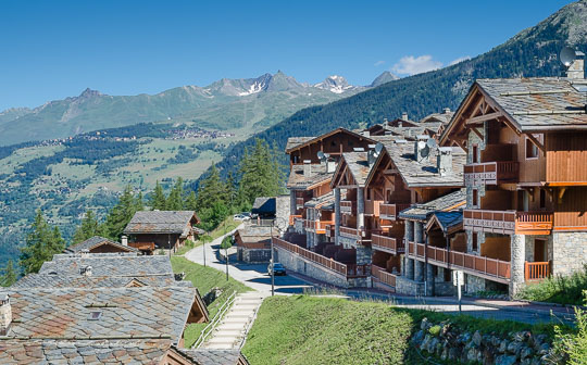 CGH Les Fermes de St Foy luxury accommodation in summer