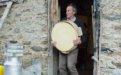 Beaufort Chalet d'Alpage cheese producer Jean-Pierre Blanc