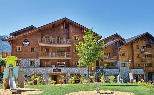 Chalets de Layssia, Samoens, French Alps