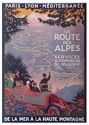 Route des Grandes Alpes poster