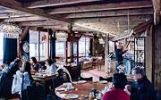 Le Sporting restaurant interior, Alpe d'Huez