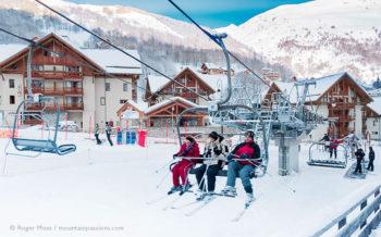 Chalets du Galibier ski apartments, Valloire, French Alps