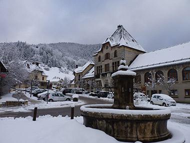 The village of St Pierre-de-Chartreuse