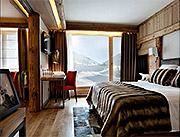 Hotel and Spa Au Couer du Village, La Clusaz, typical room.
