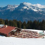 Le Coeur d'Or mountain restaurant, Combloux